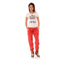 Дамски панталон Alexandra Italy 878/0, Червен
