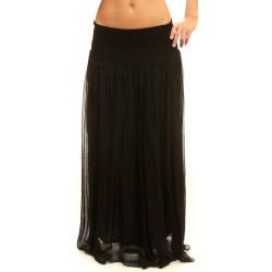 Дамска пола от Alexandra Italy - цвят черен - 0012