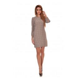 Дамска рокля Alexandra Italy 2767-Бежов цвят