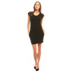 Дамска рокля в черно Alexandra Italy - 8760