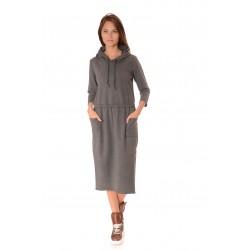 Дамска рокля Alexandra Italy 900/0 - Сив