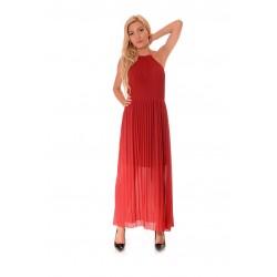 Дамска рокля Alexandra Italy 912/3, Червен
