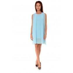 Дамска рокля Alexandra Italy 919/1, Светлосин