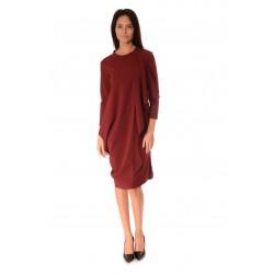 Дамска рокля Alexandra Italy 922/1 Бордо