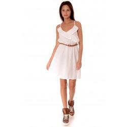 Дамска рокля Alexandra Italy 935/2, Бял