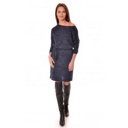Дамска рокля Alexandra Italy 940/1 - цвят тъмно син