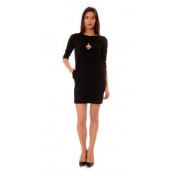 Дамска рокля Alexandra Italy 942/1 - Черен