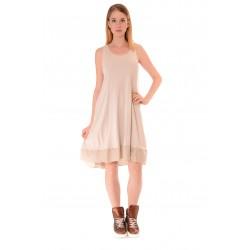Дамска рокля Alexandra Italy 949/3, Бежов