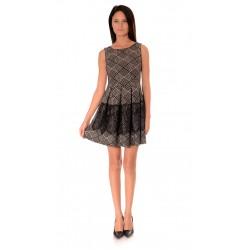 Дамска рокля Alexandra Italy 951/0 Черно-бял