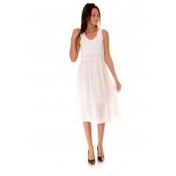 Дамска рокля Alexandra Italy 954/3, Бял