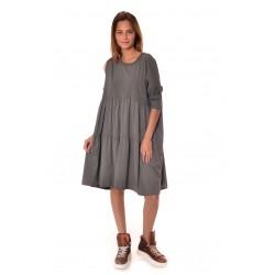 Дамска рокля Alexandra Italy 959/1, Тъмно сив