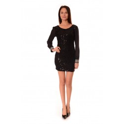 Дамска рокля Alexandra Italy 960/1- Черно