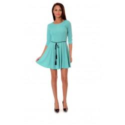 Дамска рокля Alexandra Italy 961/0 - зелен цвят