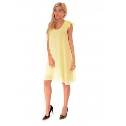 Дамска рокля Alexandra Italy 962/1, Жълт