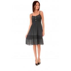 Дамска рокля Alexandra Italy 970/2, Тъмносив