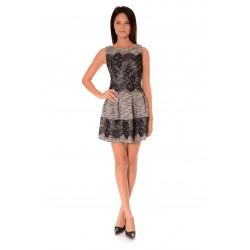 Дамска рокля Alexandra Italy 974/0 Черно-бял