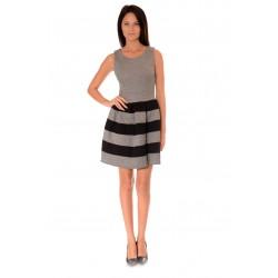 Дамска рокля Alexandra Italy 975/0 Черно-бял