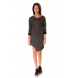 Дамска рокля Alexandra Italy 977/0 Тъмносив