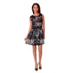 Дамска рокля Alexandra Italy 984/0 - черен цвят