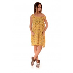 Дамска рокля Alexandra Italy 990/3, Жълт